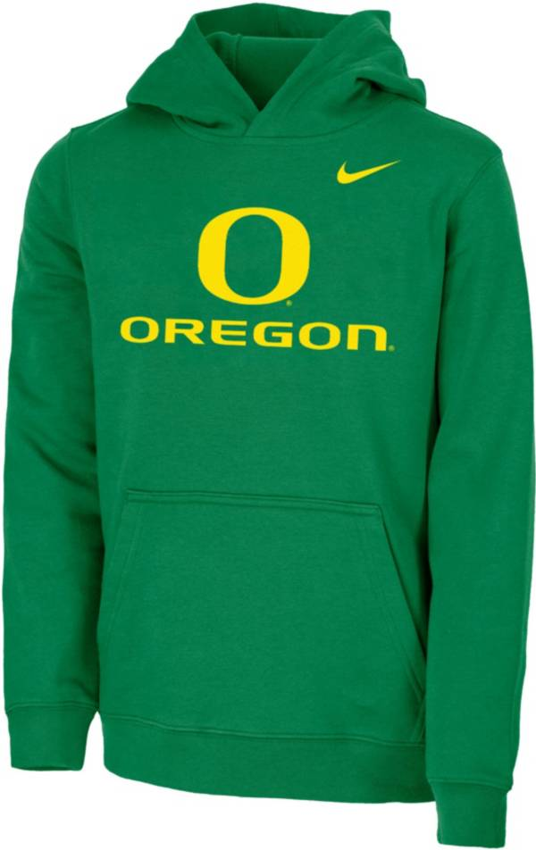 Nike Youth Oregon Ducks Green Club Fleece Pullover Hoodie product image