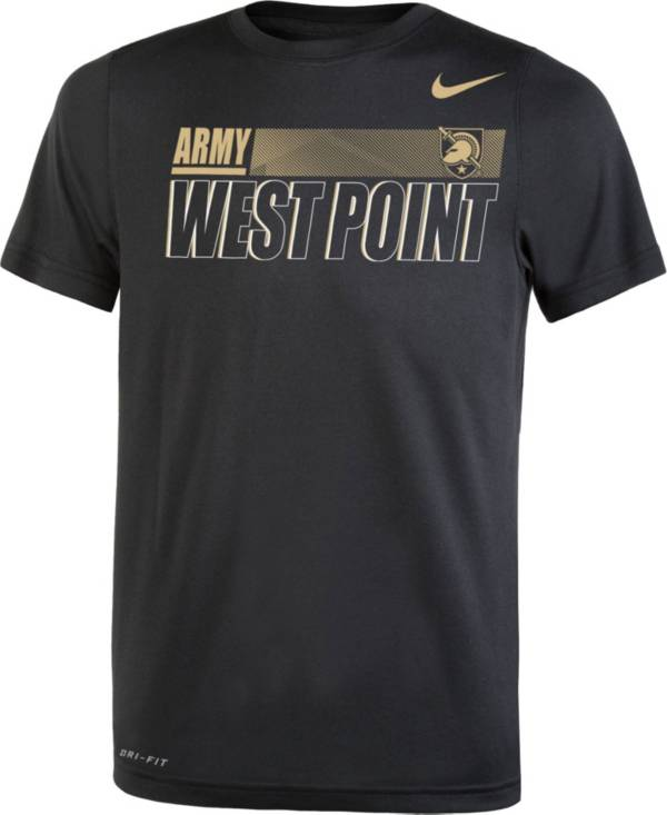 Nike Youth Army West Point Black Knights Army Black Dri-FIT Legend Performance T-Shirt product image