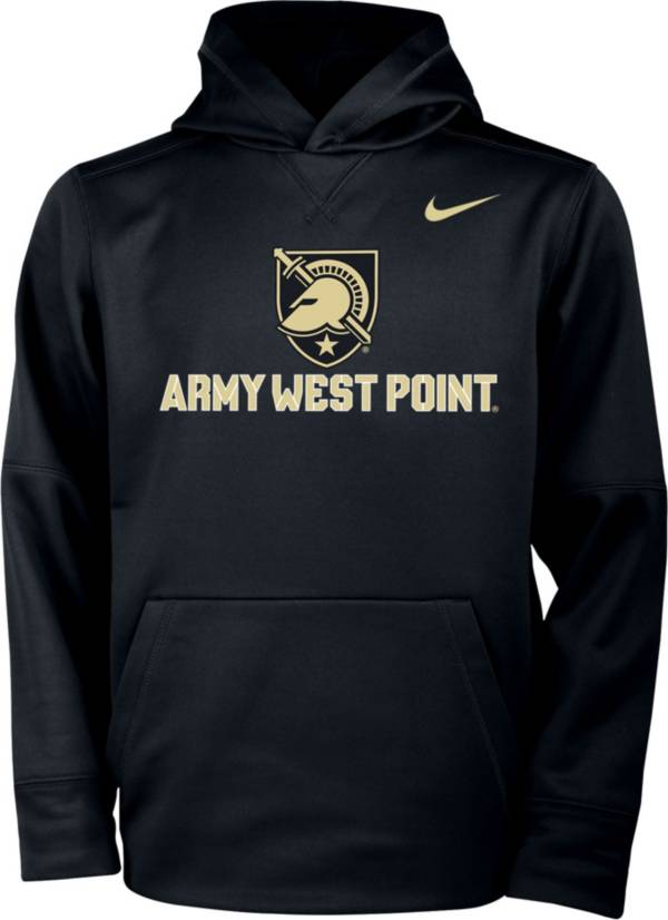 Nike Youth Army West Point Black Knights Therma Pullover Army Black Hoodie product image