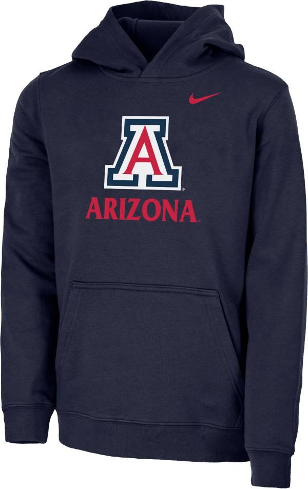 Nike Youth Arizona Wildcats Navy Club Fleece Pullover Hoodie product image