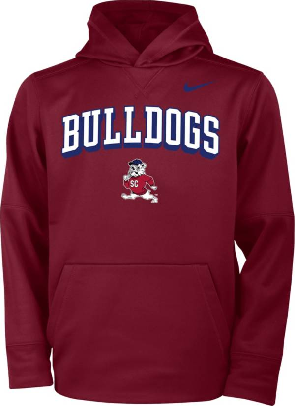 Nike Youth South Carolina State Bulldogs Garnet Therma Pullover Hoodie product image