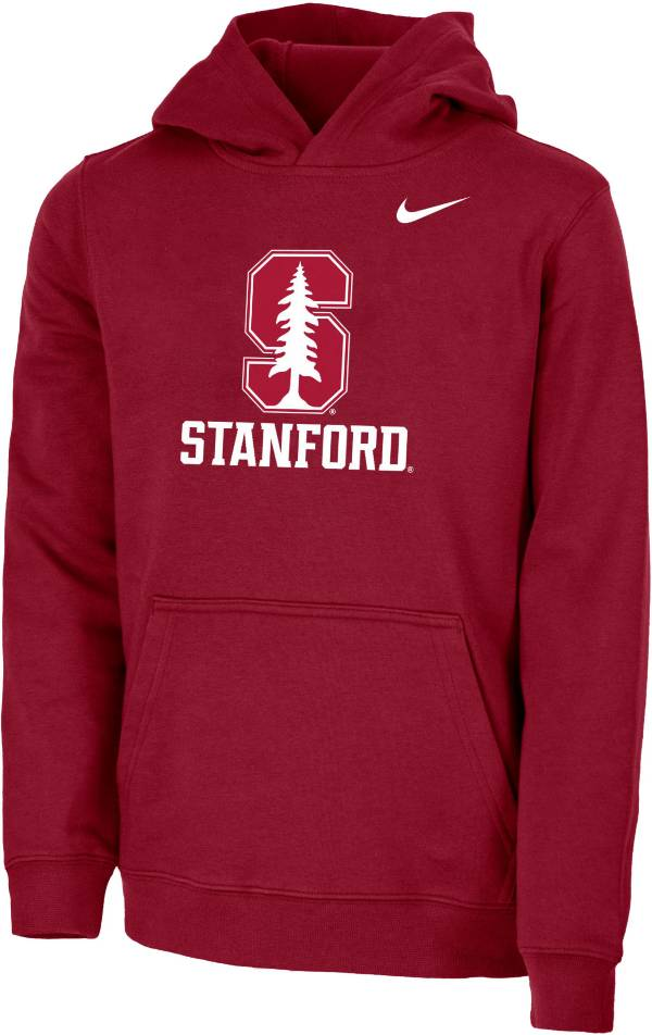 Nike Youth Stanford Cardinal Cardinal Club Fleece Pullover Hoodie product image