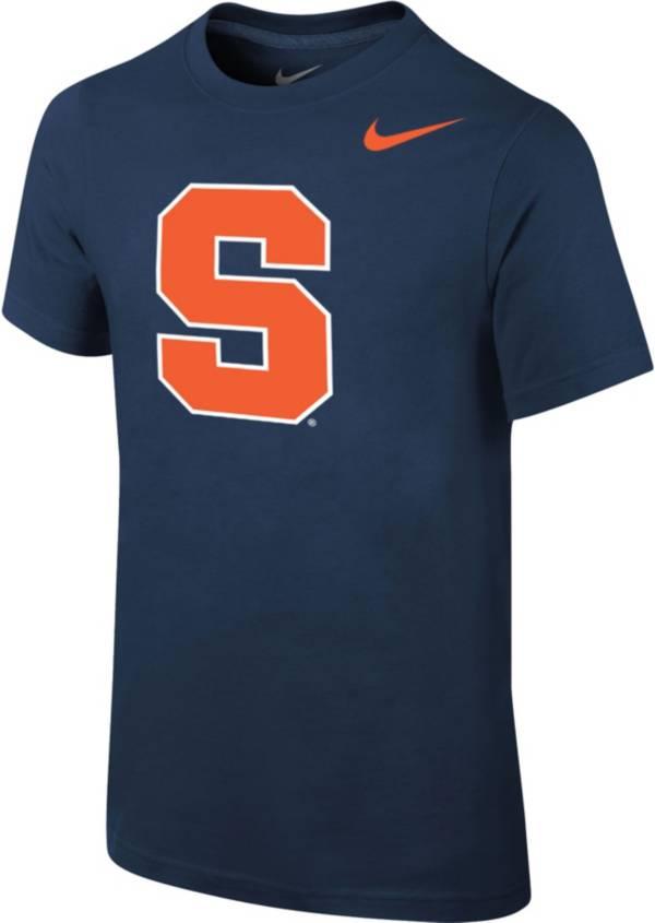 Nike Youth Syracuse Orange Blue Core Cotton T-Shirt product image