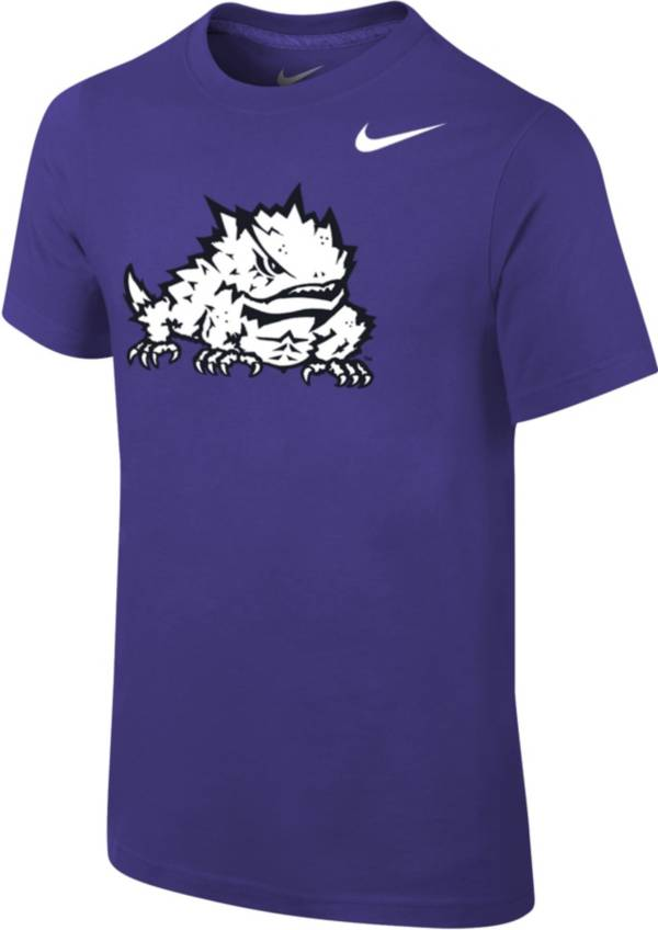 Nike Youth TCU Horned Frogs Purple Core Cotton T-Shirt product image