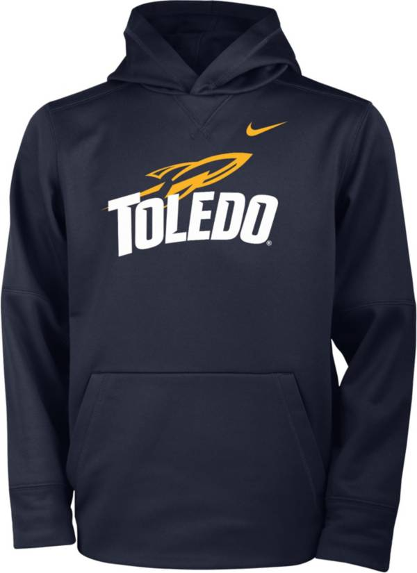 Nike Youth Toledo Rockets Midnight Blue Therma Pullover Hoodie product image