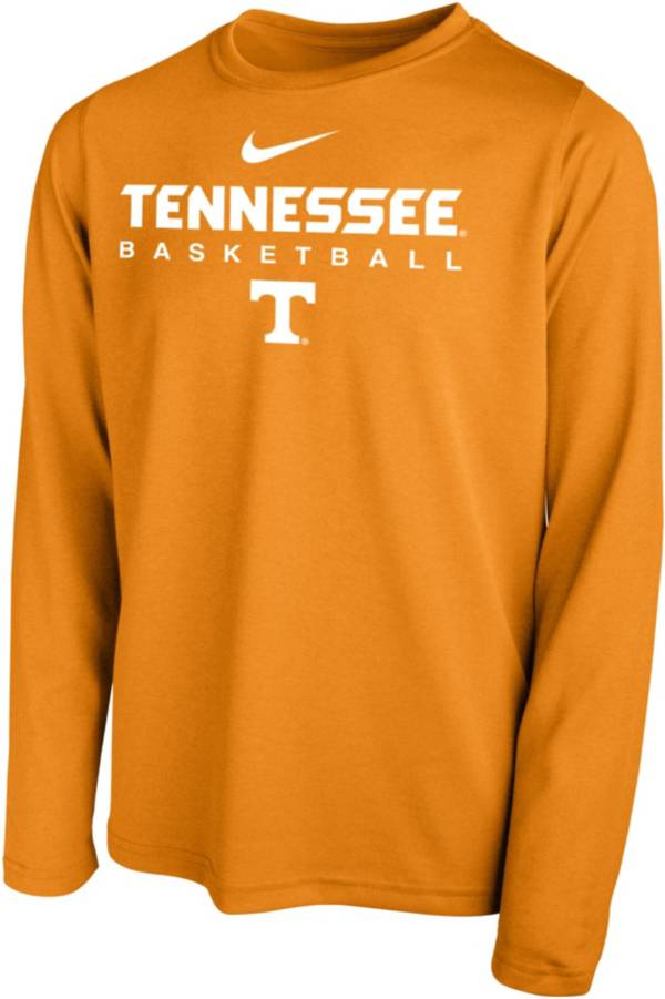 Nike Youth Tennessee Volunteers Tennessee Orange Hook Dri-FIT Legend Long Sleeve Basketball T-Shirt product image