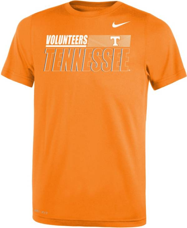 Nike Youth Tennessee Volunteers Dri-FIT Legend Performance White T-Shirt product image