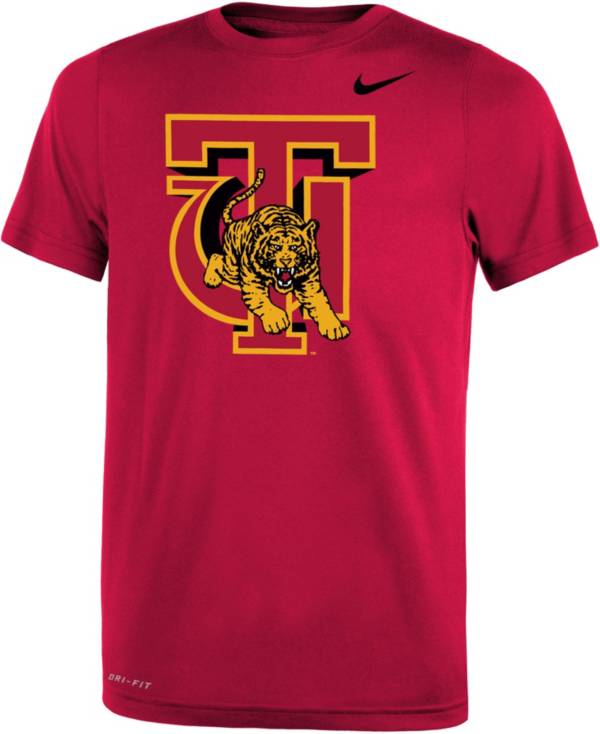 Nike Youth Tuskegee Golden Tigers Crimson Legend Performance T-Shirt product image