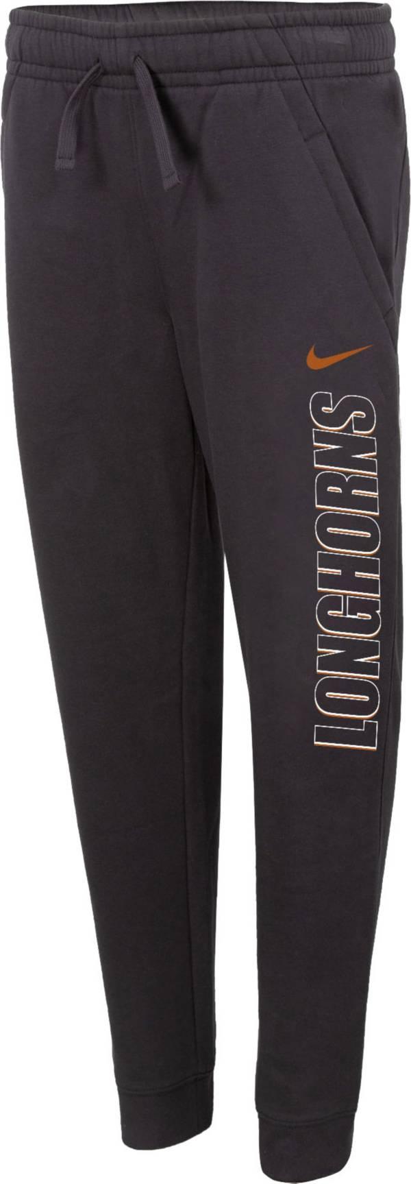 Nike Youth Texas Longhorns Grey Club Fleece Joggers product image
