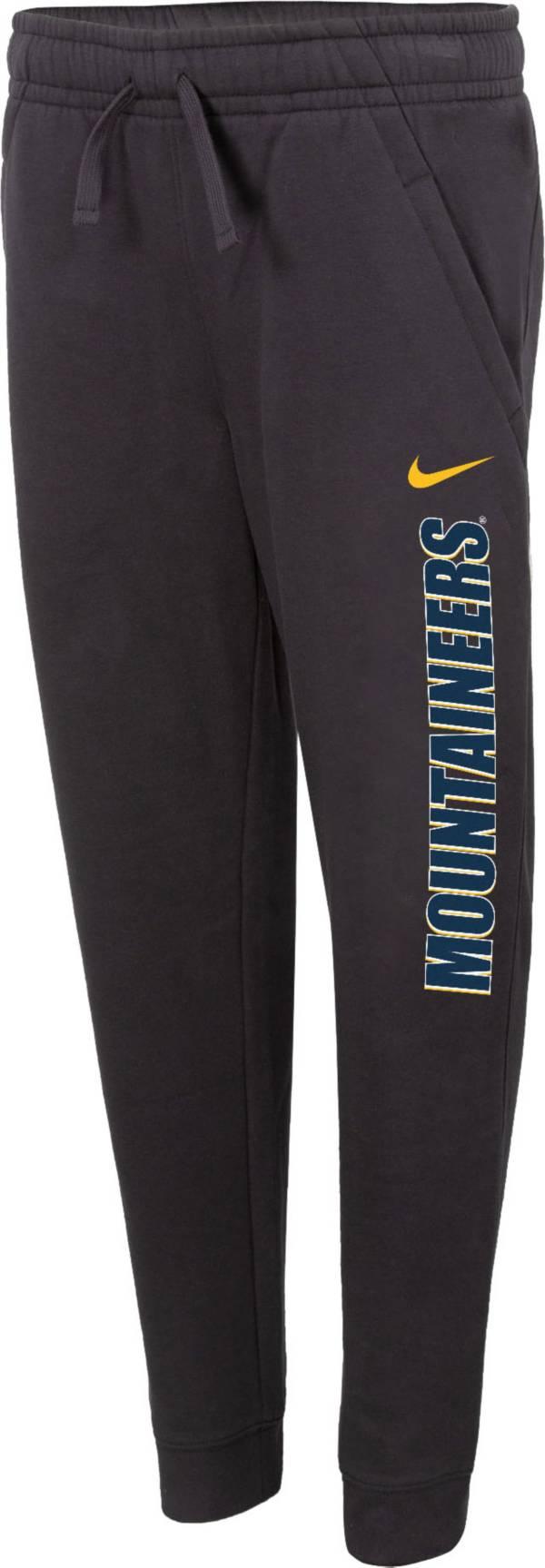 Nike Youth West Virginia Mountaineers Grey Club Fleece Joggers product image