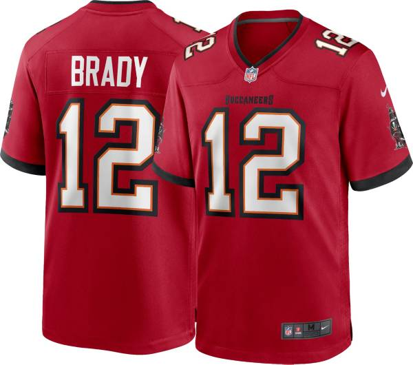 Nike Youth Tampa Bay Buccaneers Tom Brady #12 Home Red Game Jersey product image