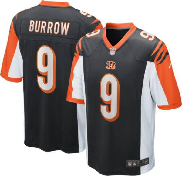 Nike Youth Cincinnati Bengals Joe Burrow #9 Home Black Game Jersey product image