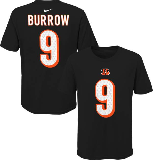 NFL Team Apparel Youth Cincinnati Bengals Joe Burrow #85 Black Player T-Shirt product image