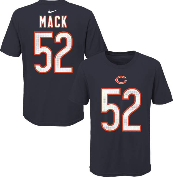 NFL Team Apparel Youth Chicago Bears Khalil Mack #85 Navy Player T-Shirt product image
