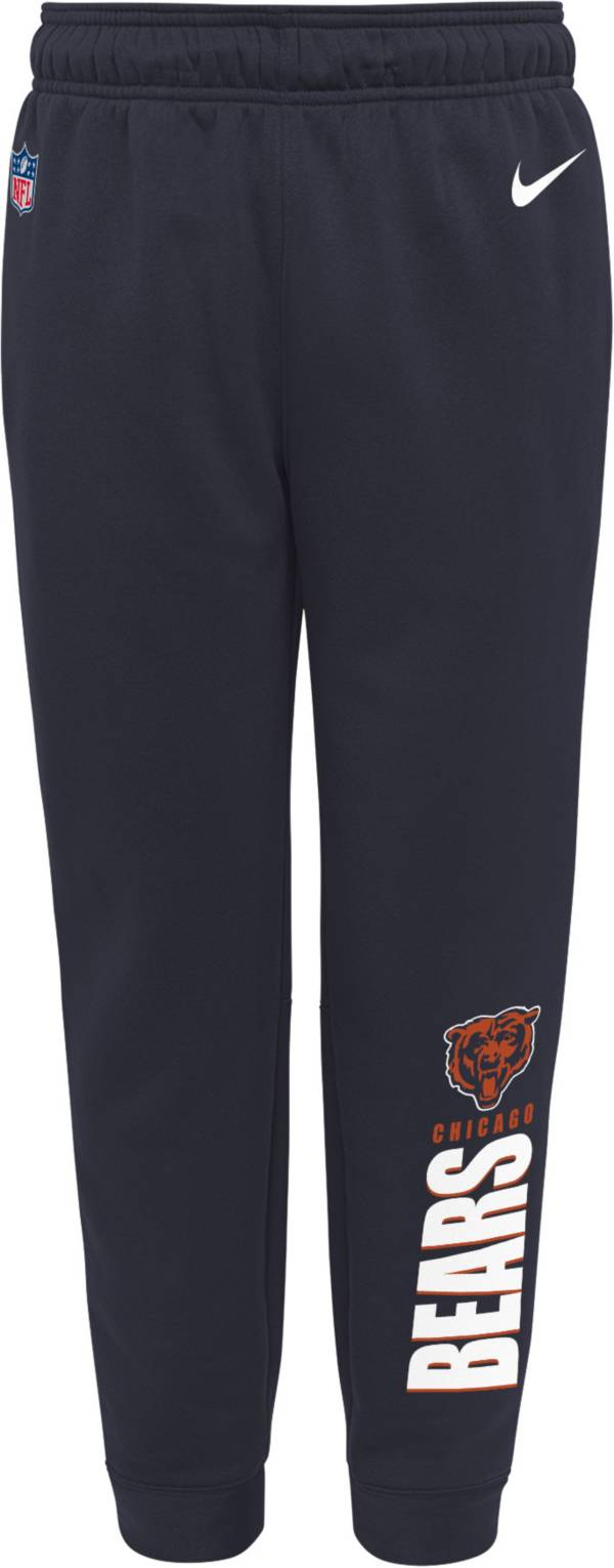 Nike Youth Chicago Bears Sideline Therma-FIT Performance Navy Pants product image