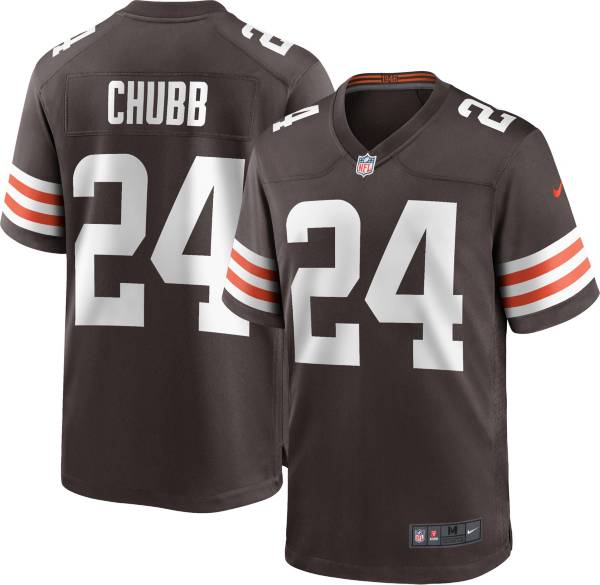 Nike Youth Cleveland Browns Nick Chubb #24 Brown Game Jersey product image