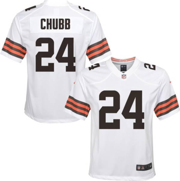 nick chubb black jersey