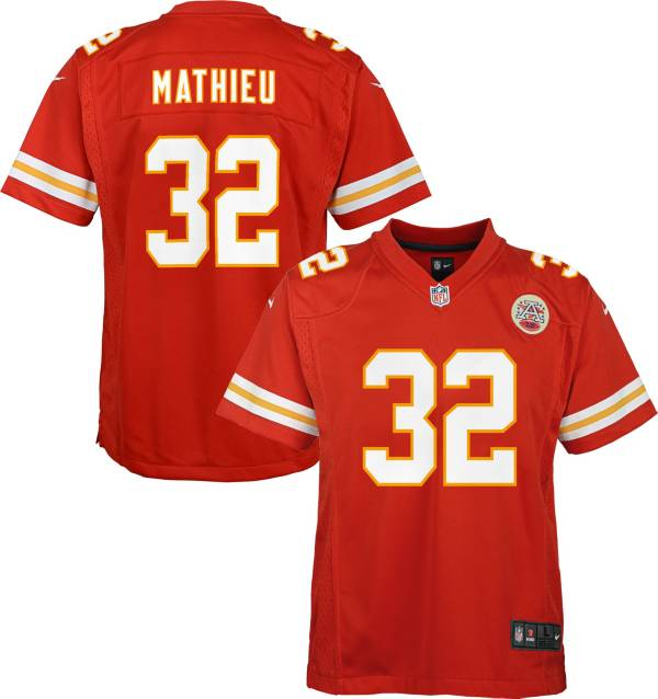 Nike Youth Kansas City Chiefs Tyrann Mathieu #32 Red Game Jersey product image