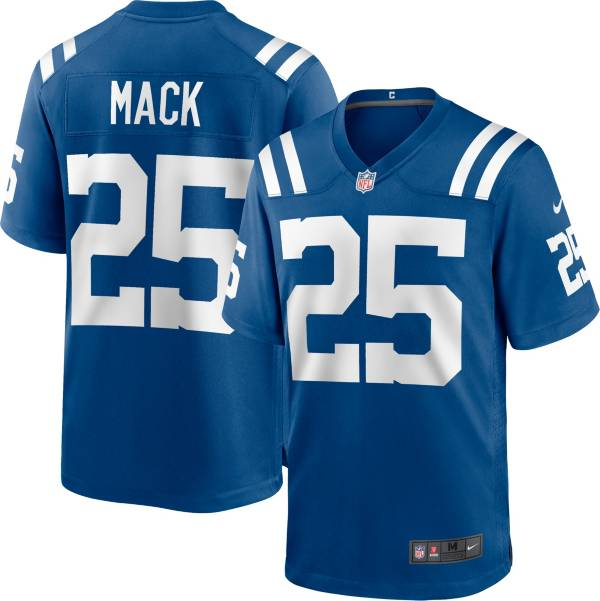Nike Youth Indianapolis Colts Marlon Mack #25 Blue Game Jersey product image