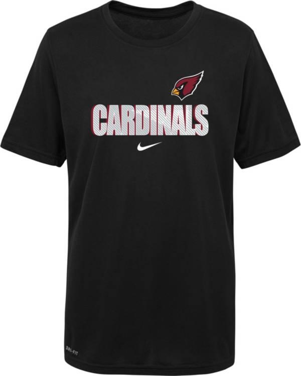 Nike Youth Arizona Cardinals Legend Black T-Shirt product image