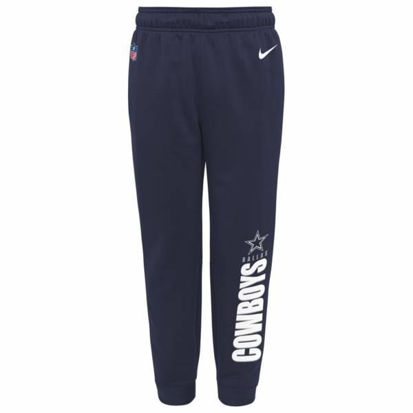 Nike Youth Dallas Cowboys Sideline Therma Fleece Navy Pants product image