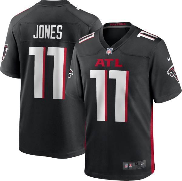Nike Youth Atlanta Falcons Julio Jones #11 Black Game Jersey