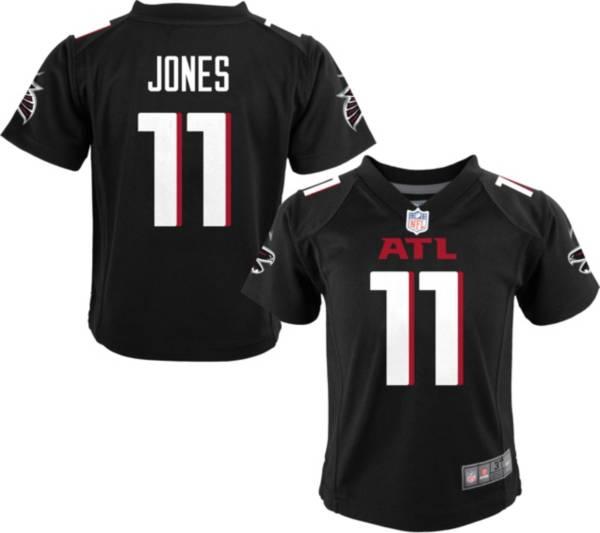 Nike Boys' Atlanta Falcons Julio Jones #11 Black Game Jersey product image