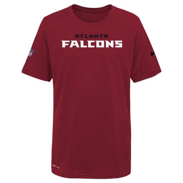 Nike Youth Atlanta Falcons Gym Red Legend T-Shirt product image