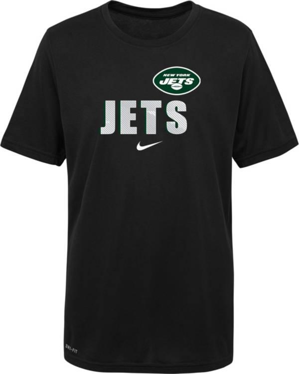 Nike Youth New York Jets Legend Black T-Shirt product image