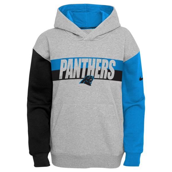 Nike Youth Carolina Panthers Grey Heritage Pullover Hoodie product image