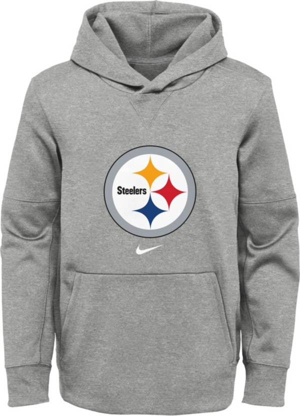 Nike Youth Pittsburgh Steelers Black Therma Pullover Hoodie product image