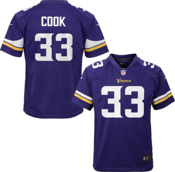 Nike Youth Minnesota Vikings Dalvin Cook #33 Purple Game Jersey product image