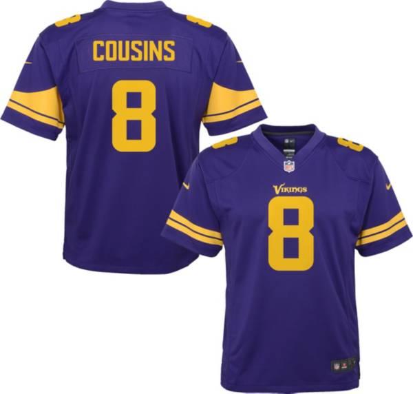 Nike Youth Minnesota Vikings Kirk Cousins #8 Purple Game Jersey product image