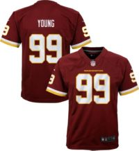 99 Chase Young White Game Jersey White-Yellow-Black Washington MenS Basketball American Football Jersey Quick-Drying And Breathable