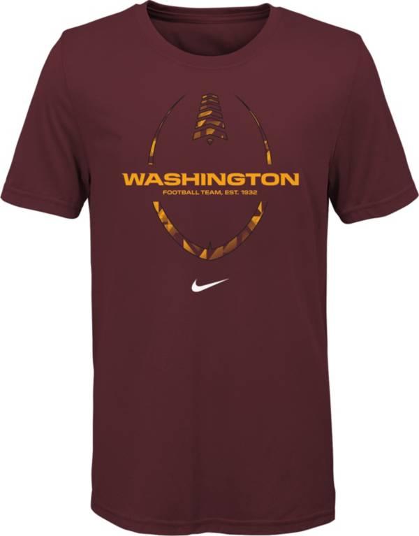 Nike Youth Washington Football Team Legend Icon Red T-Shirt product image