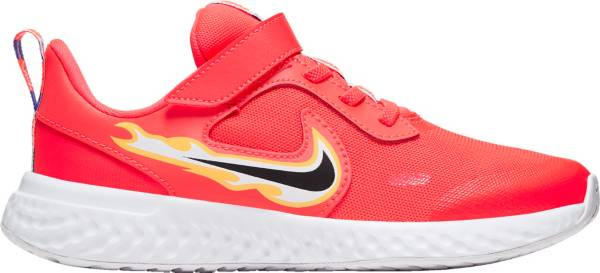Nike Kids' Preschool Revolution 5 Flame Running Shoes product image
