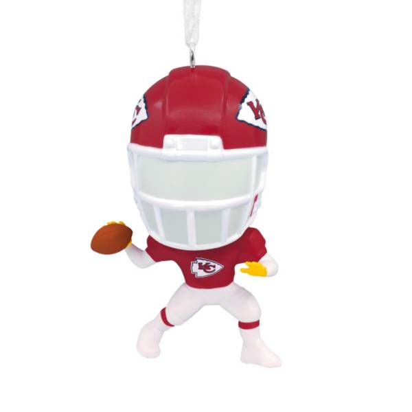 Hallmark Kansas City Chiefs Bouncing Body Ornament product image