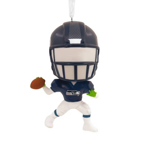 Hallmark Seattle Seahawks Bouncing Body Ornament product image