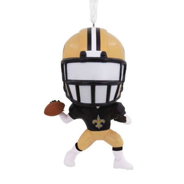 Hallmark New Orleans Saints Bouncing Body Ornament product image