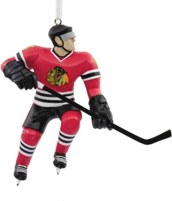 Hallmark Chicago Blackhawks Bouncing Buddy Christmas Ornament product image