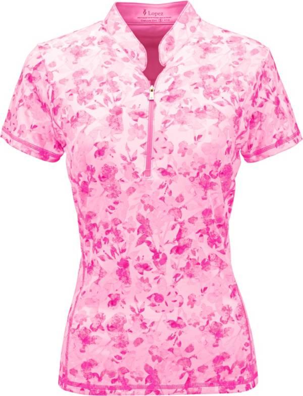 Nancy Lopez Women's Glimmer Golf Polo product image