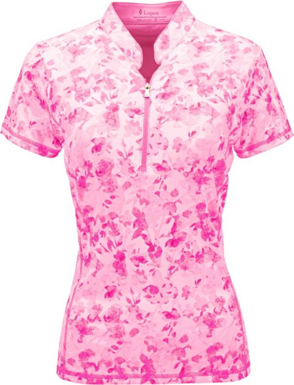 Nancy Lopez Women's Glimmer Golf Polo – Extended Sizes product image