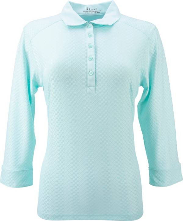 Nancy Lopez Grace 3/4 Length Sleeve Polo product image