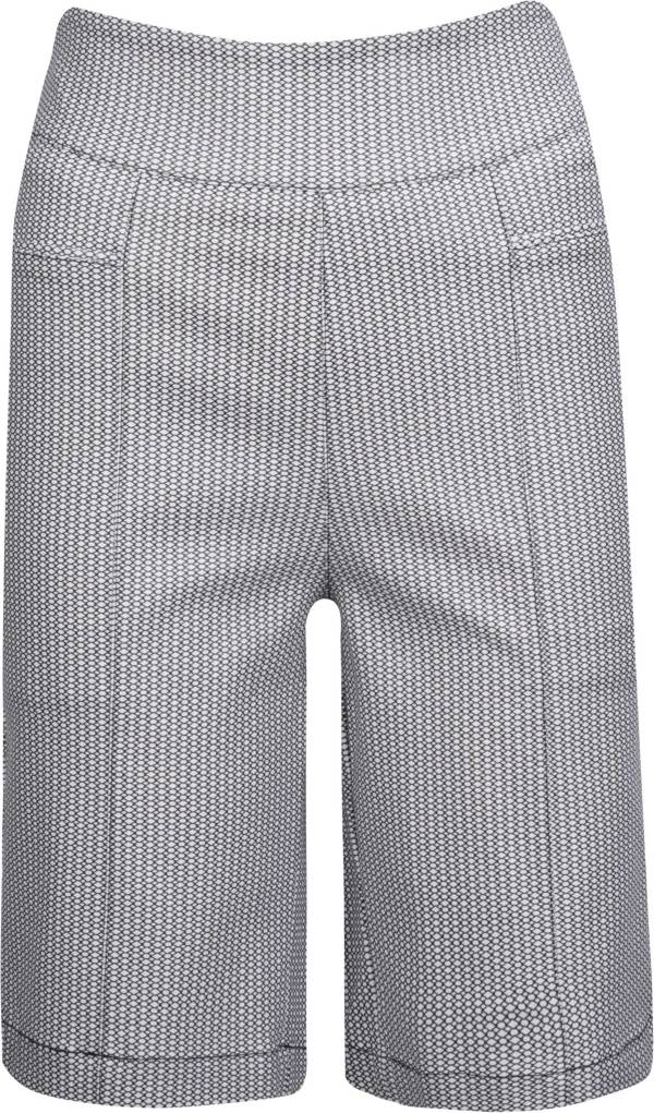 Nancy Lopez Lace Print Pully Golf Shorts – Extended Sizes product image