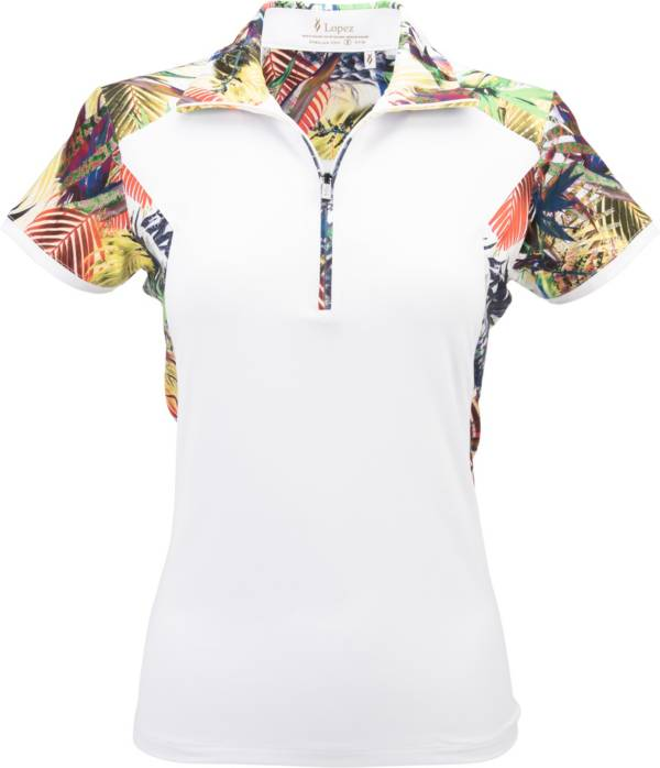 Nancy Lopez Women's Paradise Short Sleeve Polo product image