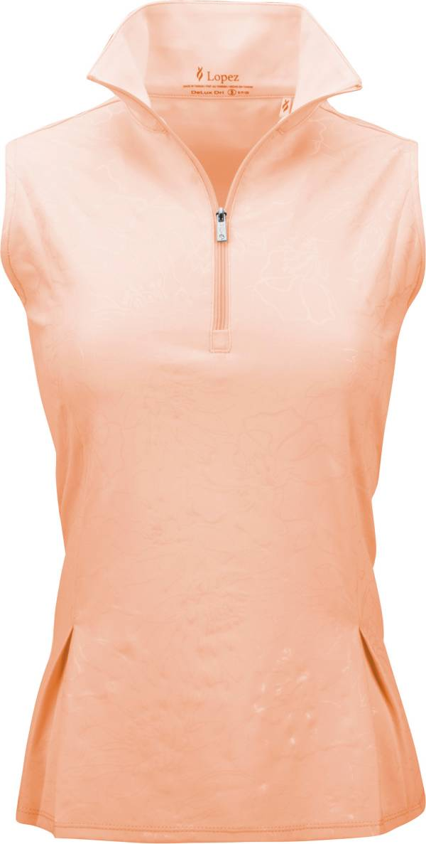 Nancy Lopez Women's Shine Sleeveless Polo product image