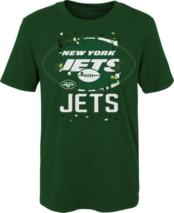 NFL Team Apparel Youth 4-7 New York Jets Black Zoom T-Shirt product image