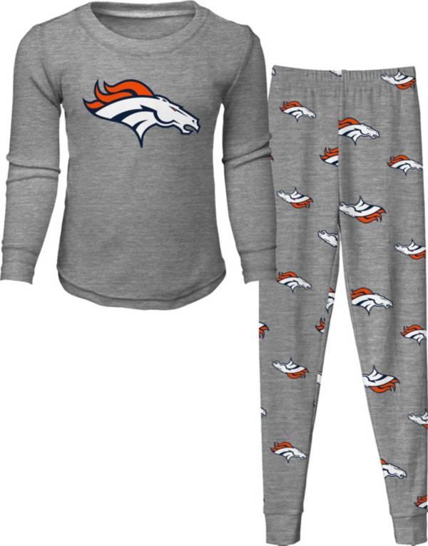NFL Team Apparel Toddler's Denver Broncos Long Sleeve Sleep Set product image