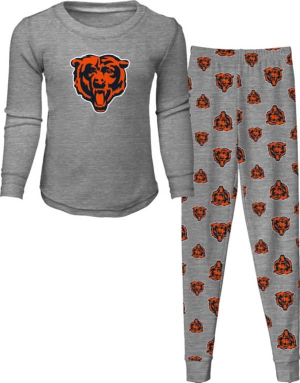 NFL Team Apparel Toddler's Chicago Bears Long Sleeve Sleep Set product image