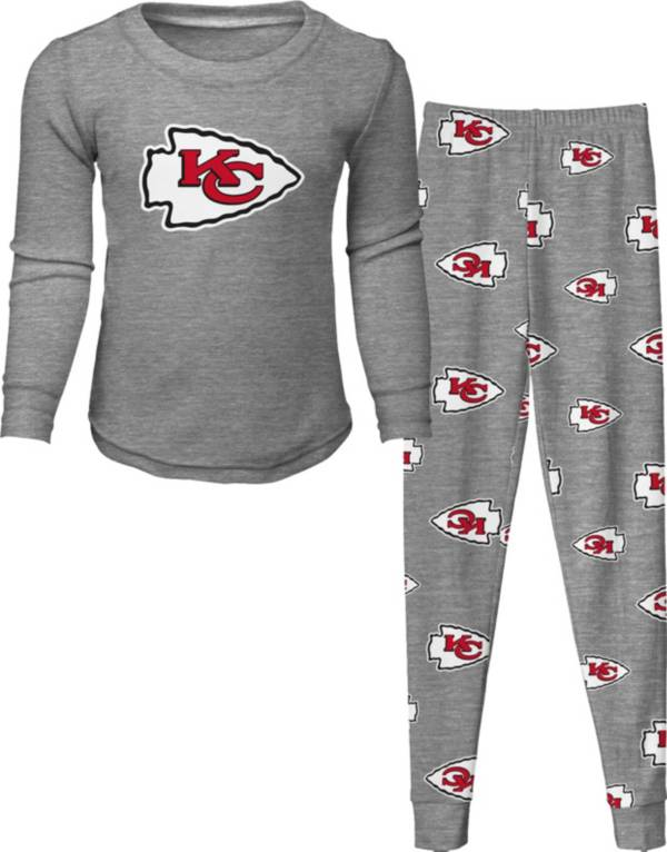 NFL Team Apparel Toddler's Kansas City Chiefs Long Sleeve Sleep Set product image